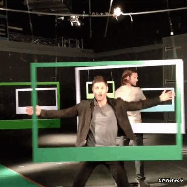 """nonymoose:   I love how Jared is just like """"oh hey DANCING IS HAPPENING.""""  Reminds me of this scene from the gag reel:"""
