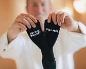 Wedding Gift Grooms Socks 'in case you get cold feet'™ Mens Wedding Socks Gift from Bride, Groom Wedding Attire Accessory