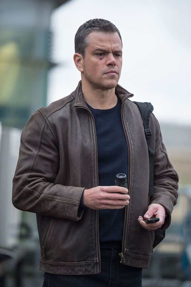Leather Jacket - Jason Bourne