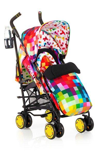 Infant Cosatto Supa Pixelate Pushchair Stroller Sun