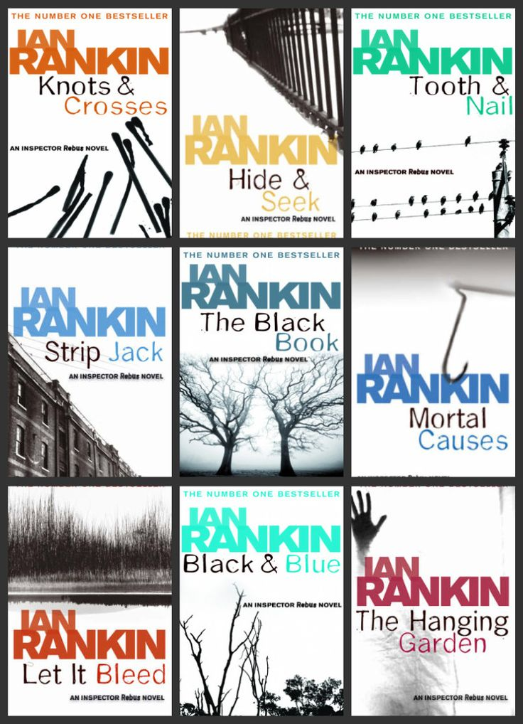Read them all - brilliant!! Great plots and sense of humour - Detective Inspector John Rebus crime novels