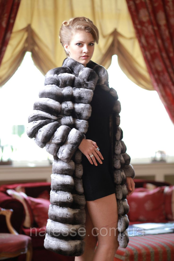"""Шуба из натуральной шиншиллы Chinchilla fur coat over coat: продажа, цена в Днепре. шубы женские от """"Меховой Салон-Ателье «Natesse»"""" - 44059140"""