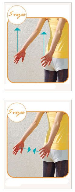 Exercícios para afinar os braços |