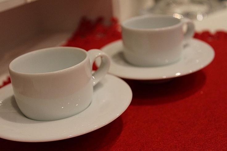 Filiżanki do espresso marki Villa Italia. #euroszklo #prezenty #espresso #villaitalia