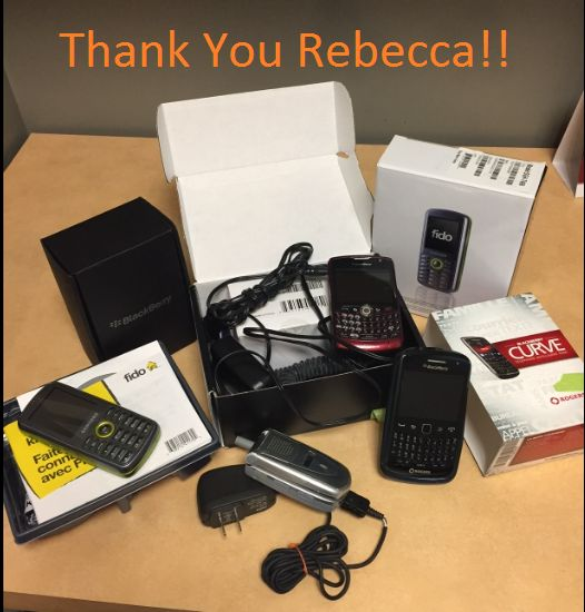 When we ask our patients for support on our community causes they never disappoint. This time was no exception.. This time when we asked for cell phone donations in support of Eden's cause to collect used cell phones for the Woman's Shelter our patient Rebecca delivered! Today, while in Goderich she brought in EIGHT used cell phones. We are beyond impressed with her generosity. Thank you so much Rebecca. We are sure Eden will be thrilled with your efforts as well! #thankyou…