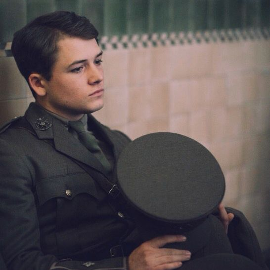 Taron Egerton in Testament of Youth