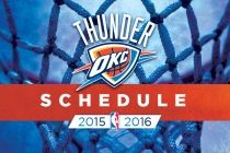 Thunder Announces Preseason Schedule | Oklahoma City Thunder