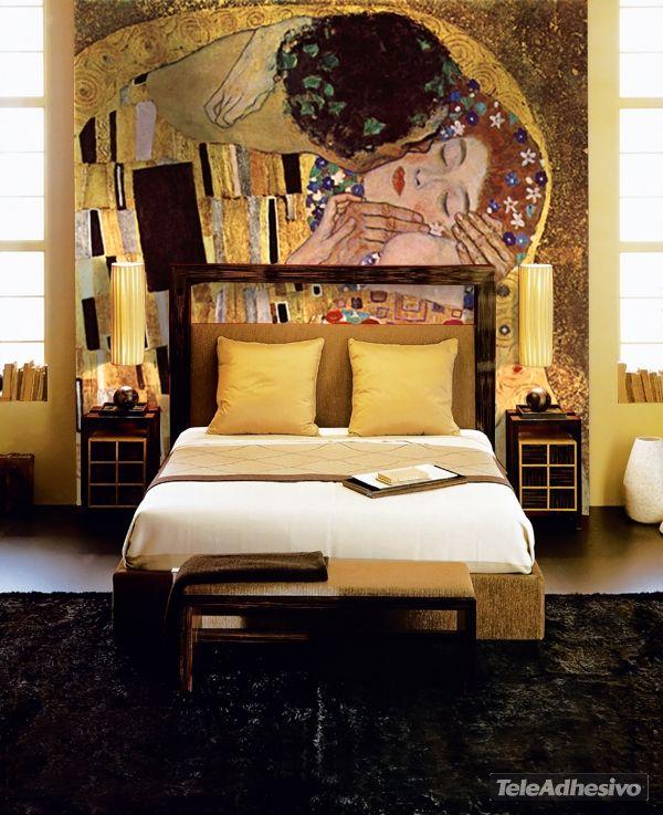 Fotomurales El beso_Klimt