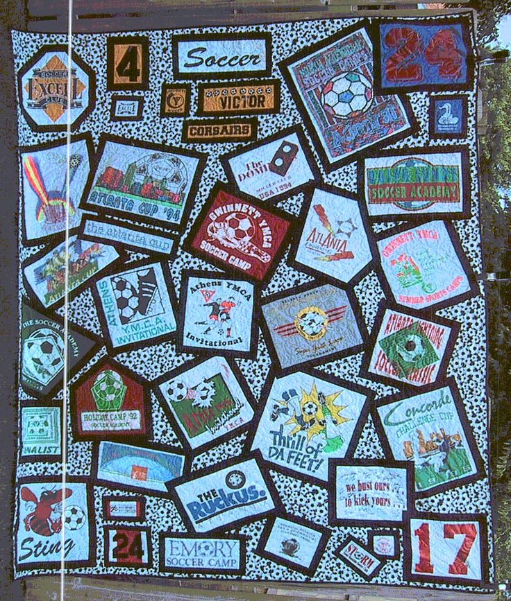 Best 25 tee shirt quilts ideas on pinterest shirt for How to make t shirt quilts easy