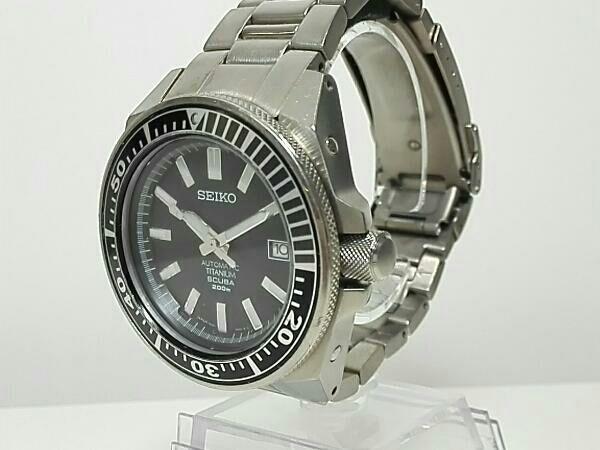 【即決】セイコー SEIKO プロスペックス ブラックサムライ SBDA001 7S25-00D0 チタン 自動巻き メンズ 腕時計 オートマチック 黒文字盤_画像3