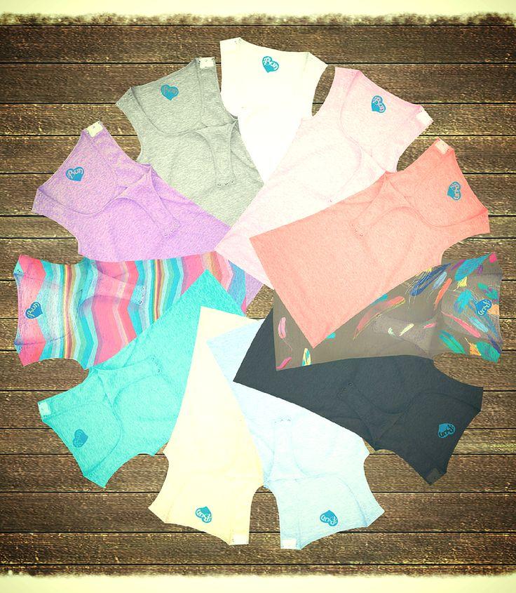 loveeeeeeeeeee color! #maternitystyle #stylishpregnancy affordable nursing tops, best nursing tanks, cutest nursing wear