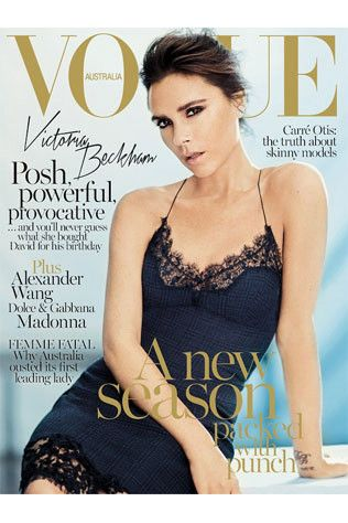 Exclusive sneak peek: Victoria Beckham for Vogue Australia September 2013.