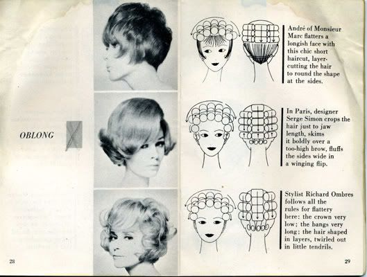 75 Retro Hair Styles - so handy. I'll finally be able to use my rollers properly.