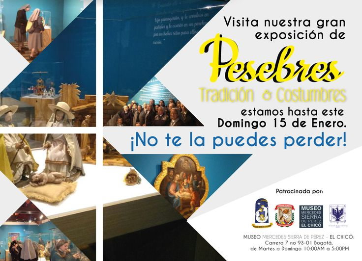 ¡No te la puedes Perder! estamos hasta este #Domingo 15 de Enero #Pesebres #novena #navidad #2017 #Museoelchicobogota #arte #Enero Facebook: https://www.facebook.com/museoelchicobogota/ Instragram: https://www.instagram.com/museoelchico/ Twitter: https://twitter.com/museoelchico Flick:https://www.flickr.com/photos/145517416@N06/ Pinteres: https://www.pinterest.com/museoelchico/ Tumblr: https://museoelchico.tumblr.com/ Google+: https://plus.google.com/u/0/101125780577289316710