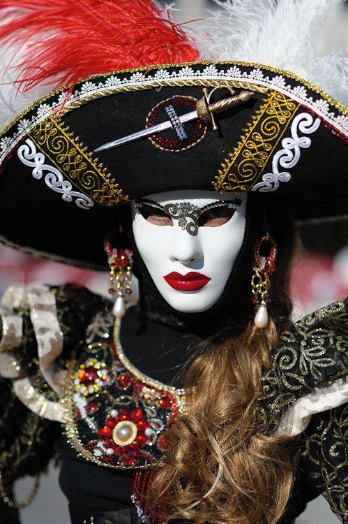 Venetian Mask by Sergey Skleznev