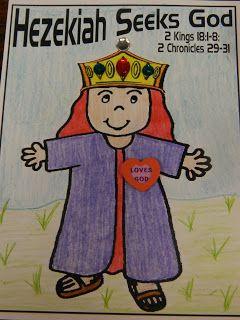 Hands On Bible Teacher: Hezekiah a GODLY KING of JUDAH