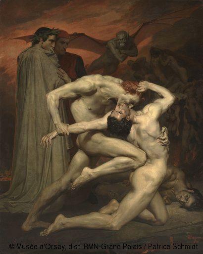 William Bouguereau,Dante et Virgile,© Musée d'Orsay, dist. RMN-Grand Palais / Patrice Schmidt
