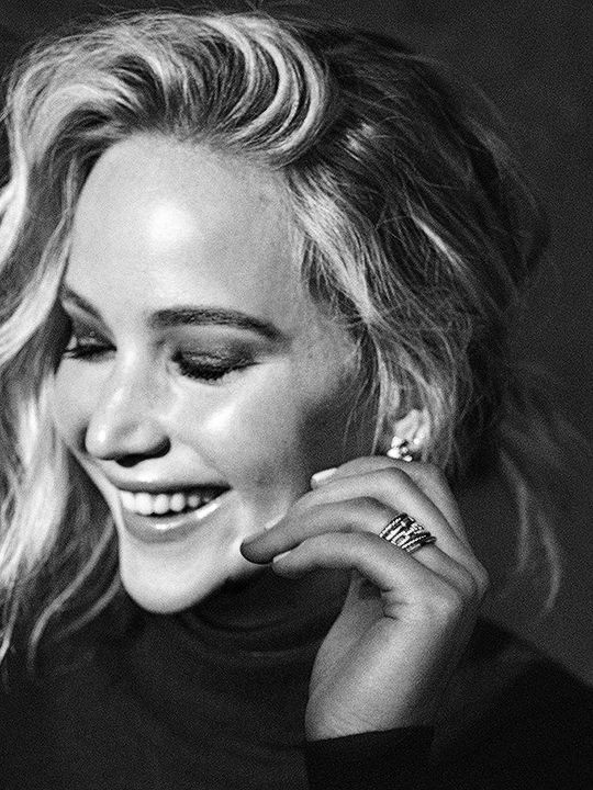 "jenniferlawurence: ""Jennifer Lawrence for The Hollywood Reporter """