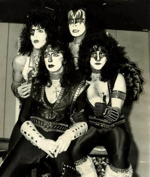 Kiss Band Members With Makeup: 897 Best Images About Kiss On Pinterest