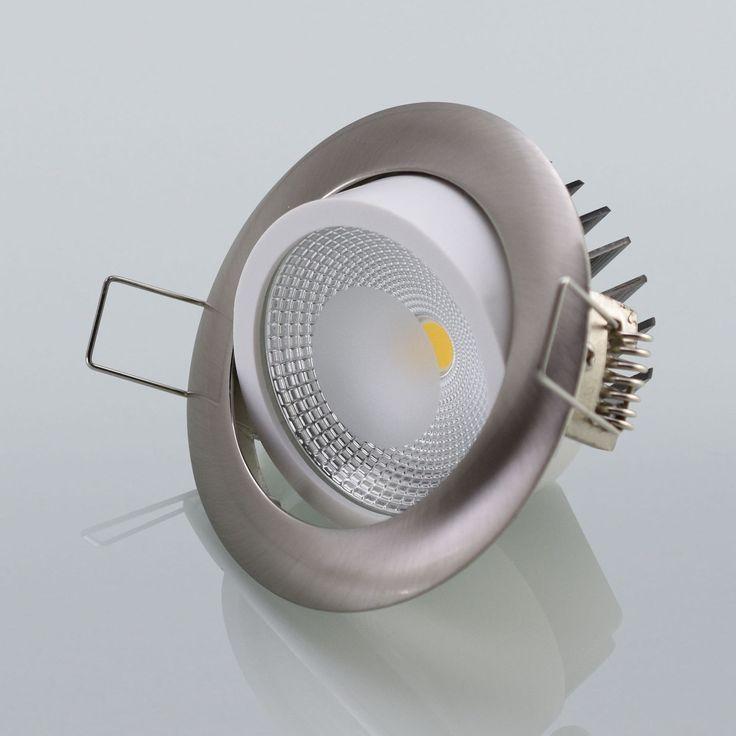 Trend Details zu LED Einbaustrahler Einbauspot W Lampe Strahler Einbautiefe mm Deckenspot NEU