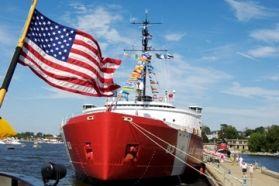 United States Coast Guard Festival in Coast Guard City USA - Grand Haven, Michigan