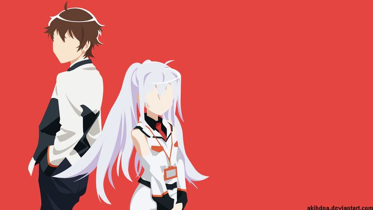 Isla and Tsukasa - Plastic Memories by Akihdna on DeviantArt