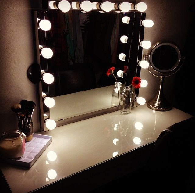 Vanity! -- IKEA. Girly ThingsLighted MirrorMirror ... - 35 Best IKEA Images On Pinterest Ikea Vanity, Vanity Ideas And