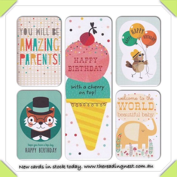 New cards in stock at The Reading Nest.  http://www.thereadingnest.com.au/index.php?route=product/category&path=84_85