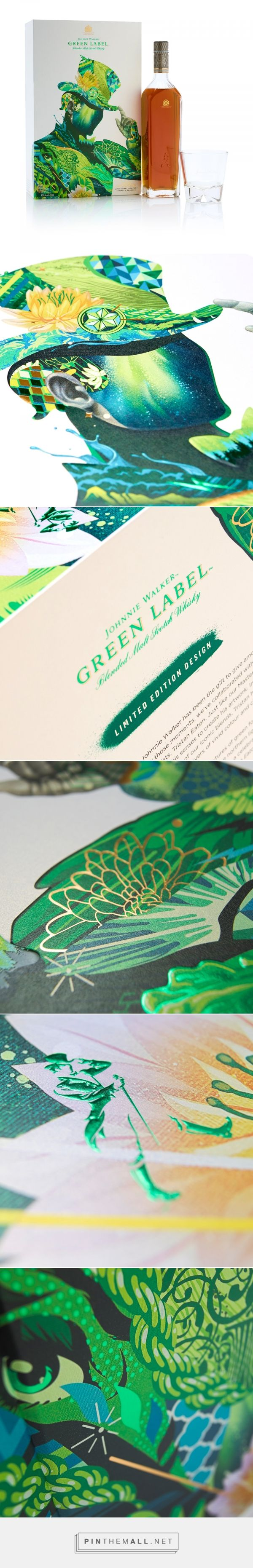 Johnnie Walker Green Label - Diageo's Artist Series 2017 on Packaging of the World - Creative Package Design Gallery... - a grouped images picture - Pin Them All