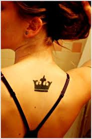 girly tiara tattoos