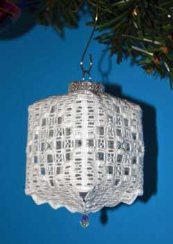 Nordic Needle Features Newsletter - Staff Favorites Hardanger ornament