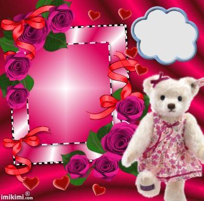 122 best ꧁Teddy Bear Frames꧁ images on Pinterest | Teddy bears ...