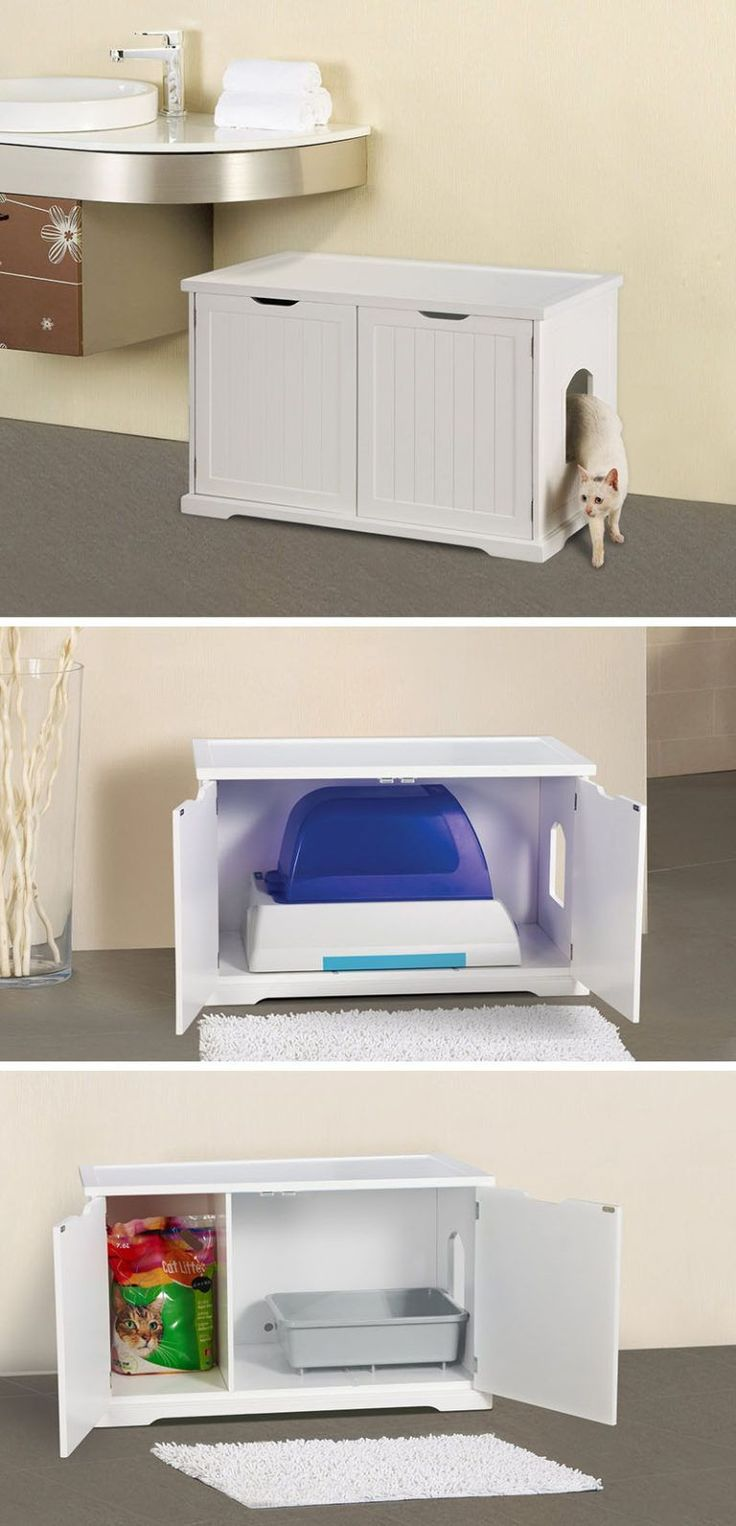 10 ideas for hiding your cats litter box this bench can