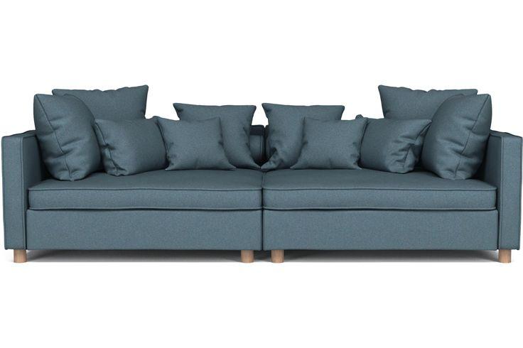 Tenk deg hele familien og alle vennene dine i denne enorme og komfortable sofaen. Høres det usannsynlig ut? Ikke med Mr. Big. Den er laget for å innfri dine ønsker – enten det er en «open end»-sofa eller bare en virkelig STOR sofa. Tre moduler gjør at du kan forme den som du vil.
