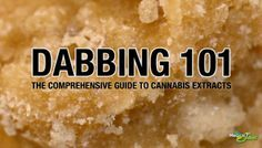 The Comprehensive Guide To Dabbing & Cannabis Concentrates | Marijuana Extracts Are Growing In Popularity | Medical Jane | October 2013