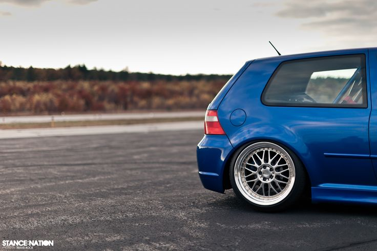 Stanced & Fitted Volkswagen Golf