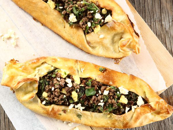 From the YOU test kitchen: Mince-filled pide