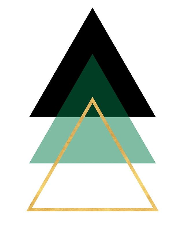 GEOMETRIC ABSTRACT HOLLOW PYRAMIDS TRIANGLE   Photographic ...