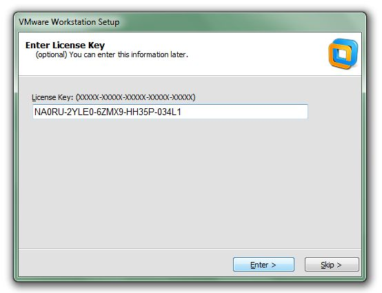 vmware workstation 14 license key