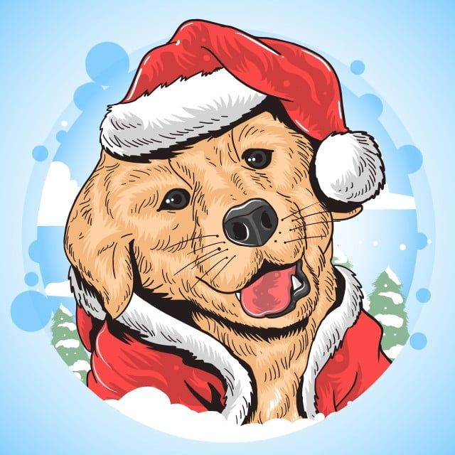 New Puppy For Christmas 2020 December adorable,animal,background,beard,breed,brown,canine,celebration