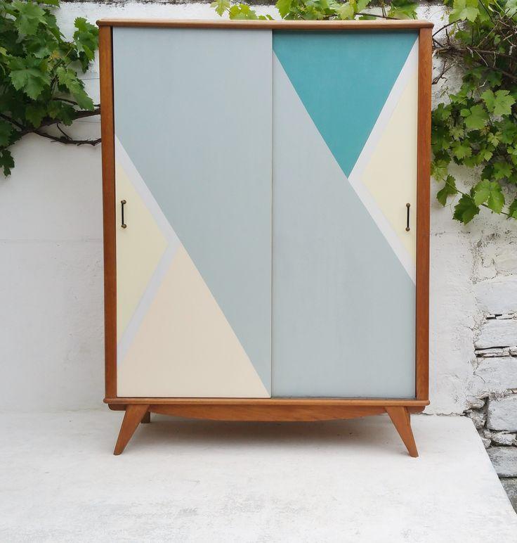 17 meilleures images propos de armoire enfant sur pinterest style vintage placards et instagram. Black Bedroom Furniture Sets. Home Design Ideas