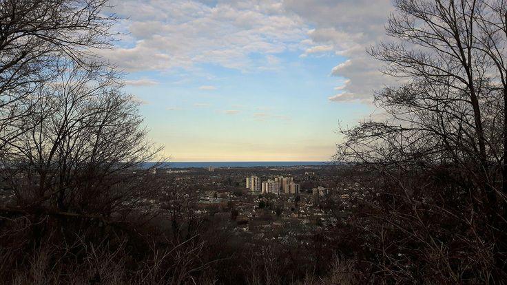 Hamilton, Ontario,. On the mountain.