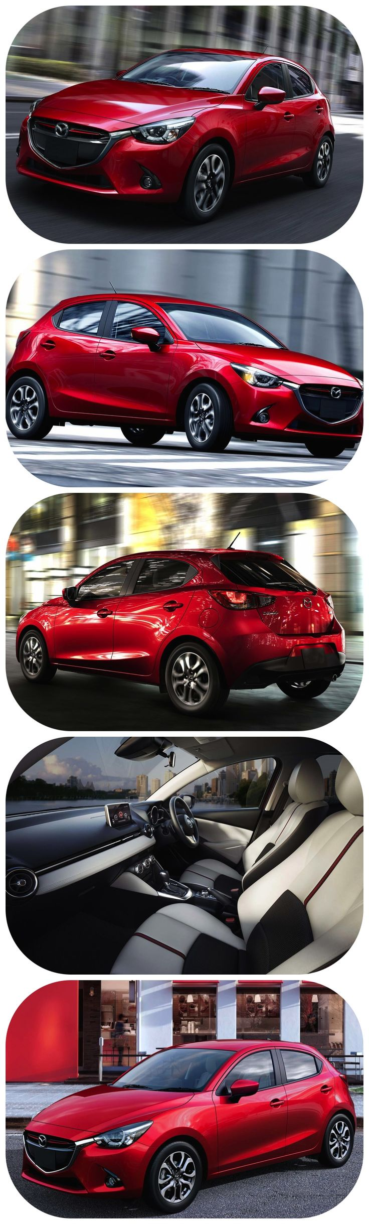 All-New Mazda2  - Mazda Demio SKYACTIV  The first pictures from Mazda of the all-new Mazda2. The unconventional carmaker launched its production of its next-generation supermini at its Hofu plant south-east of Hiroshima.   The Mazda2 aka as Demio in some regions is the fourth member of Mazda's current model generation. Featuring the full range of ultra-efficient SKYACTIV Tech along with a sharp stunning KODO – Soul of Motion design. #mazda #supermini #newcars #drive