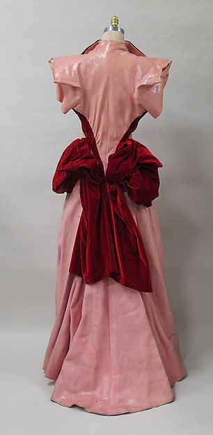 Evening coat Designer: Charles James (American, born Great Britain, 1906–1978) Date: 1936–37 Culture: American Medium: synthetic, silk