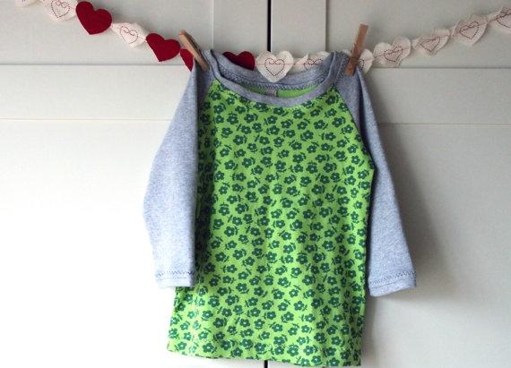 Children long sleeve tshirt  Raglan tshirt for girl.Tshirt Raglan, Raglan Tshirt, Sleeve Tshirt