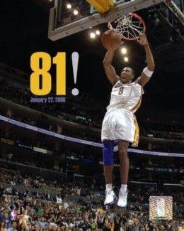 Kobe Bryant scores 81 points!
