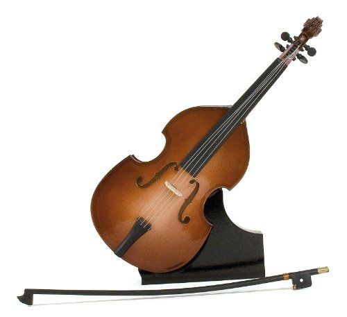 Anne Fuzeau Création Miniature double bass with bow - varnished Wood - decorative item - music gift - delivered with its  Miniature musical instrument : double bass with bow in varnished wood (decoration item). Delivered with a support to be able to be vertically presented. Gift for the musi (Barcode EAN = 3700564903171) http://www.comparestoreprices.co.uk/december-2016-6/anne-fuzeau-création-miniature-double-bass-with-bow--varnished-wood--decorative-item--music-gift--delivered-with-its-.asp