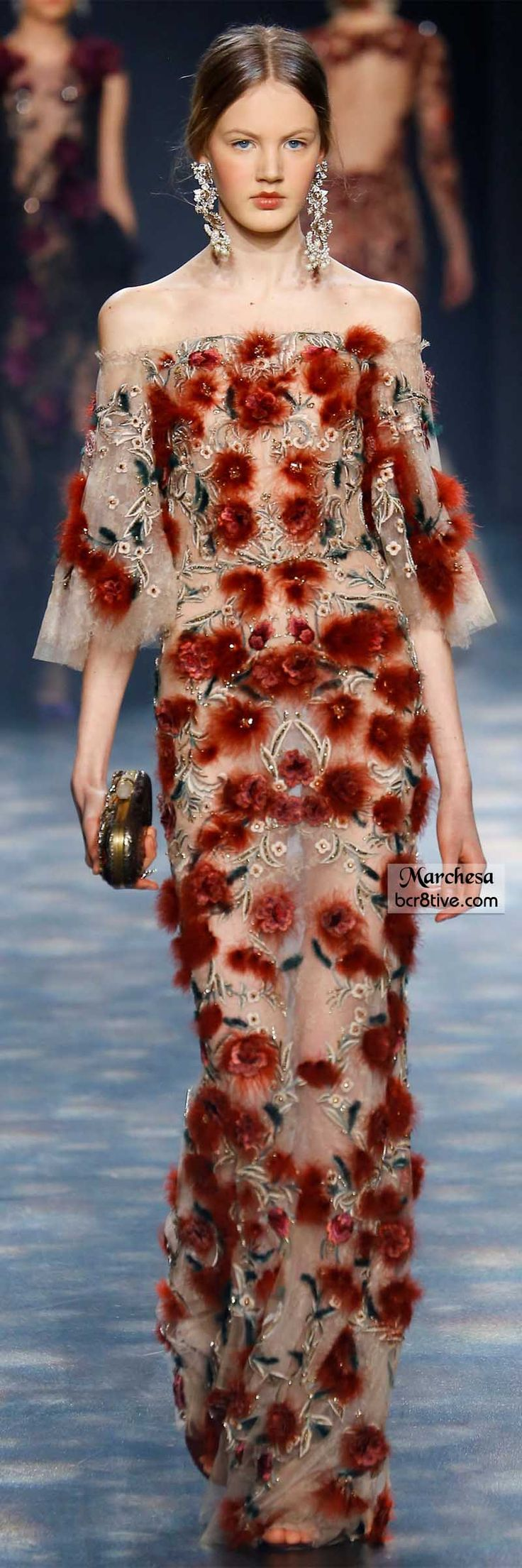 """Marchesa Fall 2016 """"And the LORD said to Moses, """"Go to the people and consecrate them today and tomorrow. Have them wash their clothes."""" Exodus 19:10"""