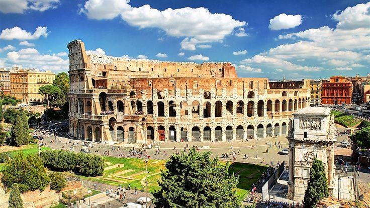 Ai chef de ducă și de explorat obiective turistice? Îți propunem în luna august un minunat sejur cu ghid la Roma!Prin aceasta promotie beneficiati de 6 zile ( 5 nopti ) cazare in camera dubla cu mic dejun la hotel 3* situat central in Roma, bilete de avion, cu taxele de aeroport incluse, ghid turistic si asistenta in limba romana, cu doar390 eurode persoana!Oferta este valabila pentru plecare i...