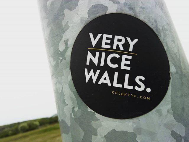 Very nice walls. #vlepki #stickers #verynicewalls #krakow #ruczaj #czerwonemaki
